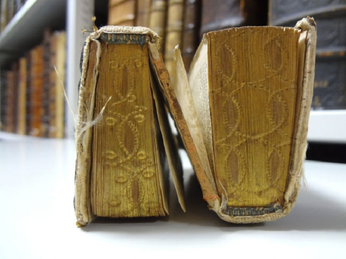 Двусторонняя книга 16 или 17 века.