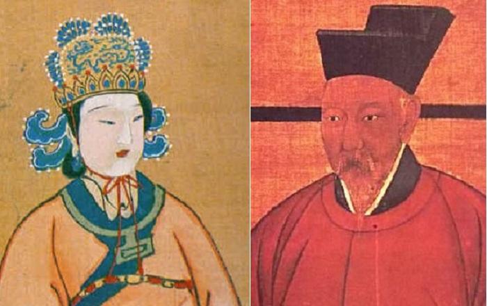Китайский император Гао-Цзун и его императрица У Цзэтянь. | Фото: muz4in.net.