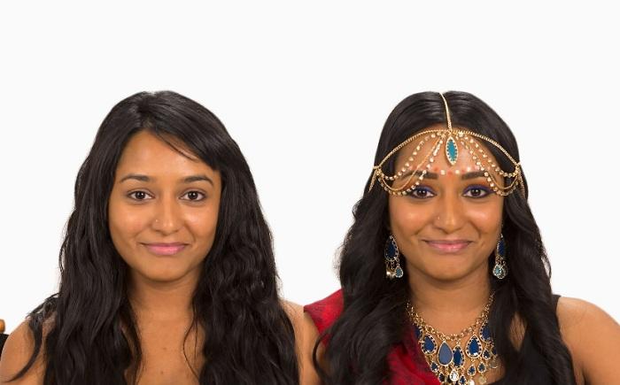 Мейкап в индийских традициях.