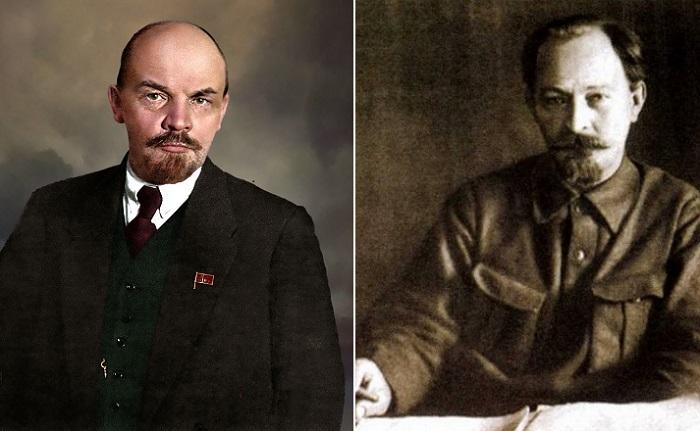 Владимир Ленин и Феликс Дзержинский.