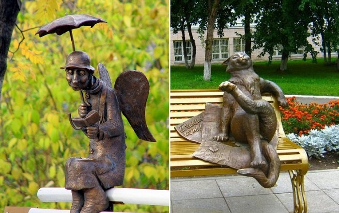 Самые забавные памятники России, глядя на которые, невозможно не улыбнуться