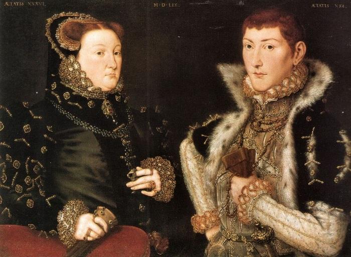 Родители Джейн Грей — лорд Генри Грей и леди Фрэнсис Брэндон. | Фото: img-fotki.yandex.ru.