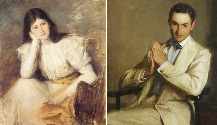 Портреты, написанные французским художником Жаном-Эмилем Бланш. | Фото: sociallearningcommunity.com.
