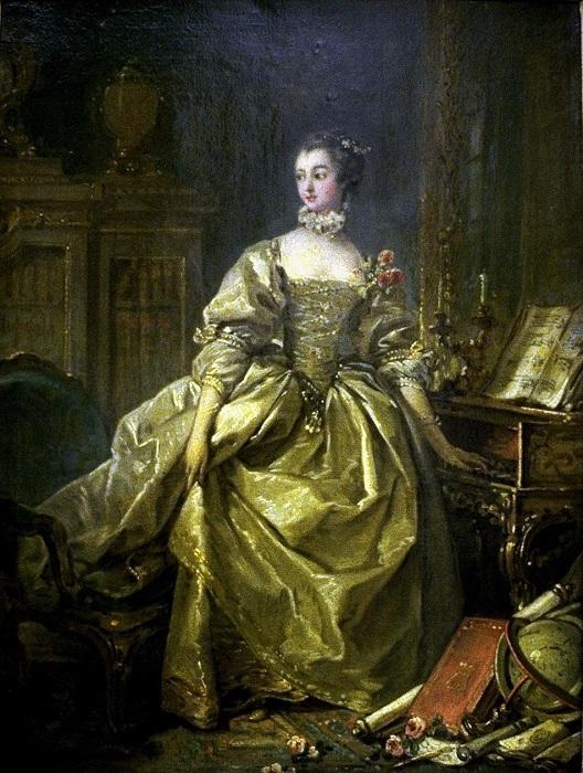 Фаворитка Людовика XV маркиза де Помпадур. | Фото: diva.sfsu.edu.