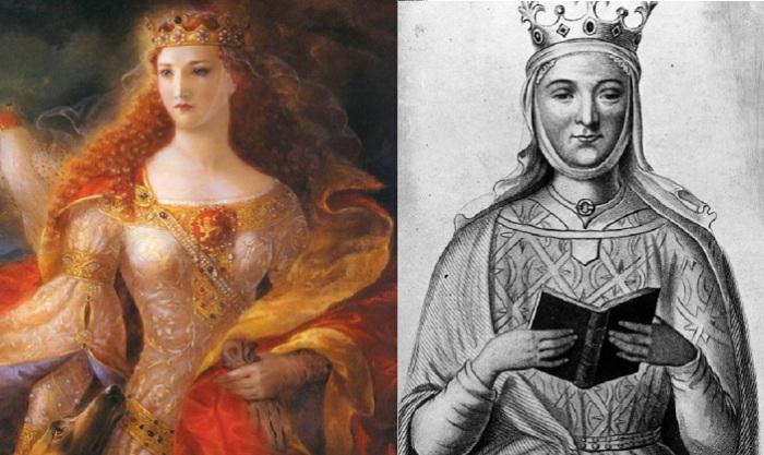Алиенора Аквитанская - герцогиня Аквитании, королева Франции и королева Англии в XII веке.