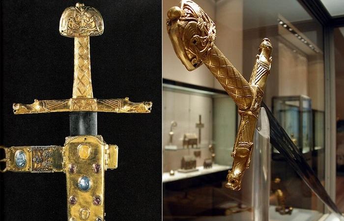 Жуаёз - меч Карла Великого. | Фото: j-times.ru.