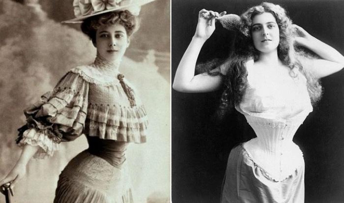 В XIX веке у женщин были свои уловки, как увеличить грудь.