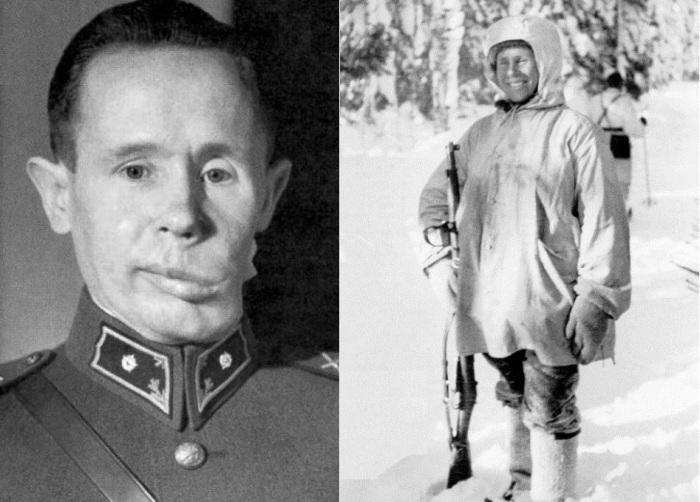 Симо Хяюхя - финский снайпер по прозвищу «Белая смерть».