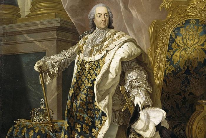 Король Франции Людовик XV. | Фото: images.mentalfloss.com.