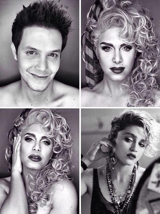 Образ Мадонны.