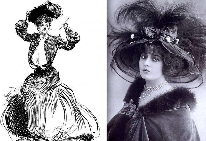 В начале ХХ модницы использовали шляпные булавки в качестве орудия самообороны.