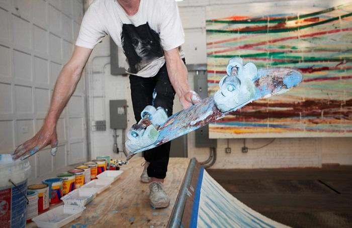 Абстрактные рисунки Мэтта Райли.