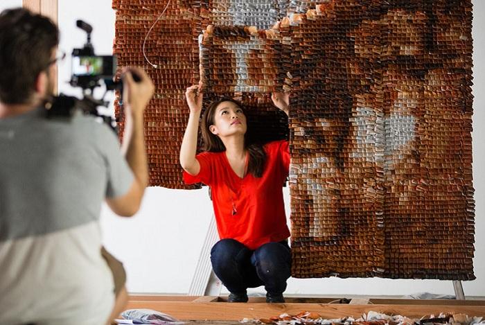 Работа художницы из Малайзии Hong Yi.