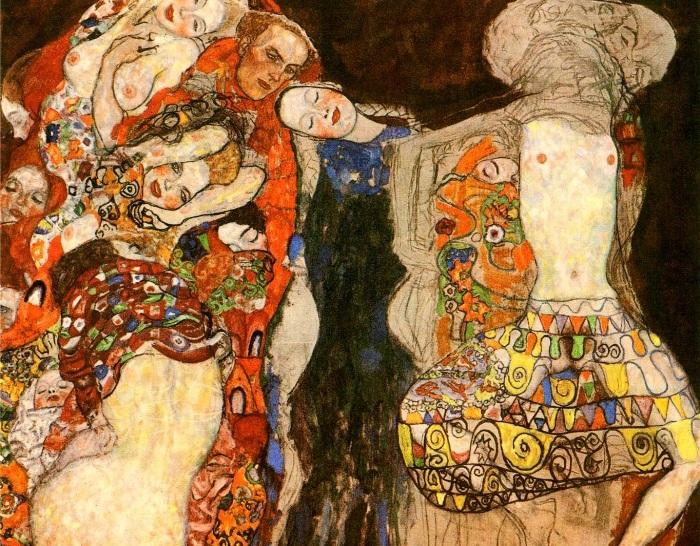 Невеста. Густав Климт, 1918 г. | Фото: gklimt.ru.