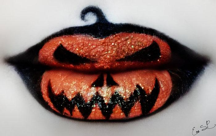 Lip art от Евы Пернас.