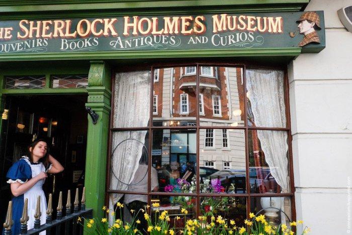 Дом-музей Шерлока Холмса выдержан в викторианском стиле.| Фото: loveopium.ru.