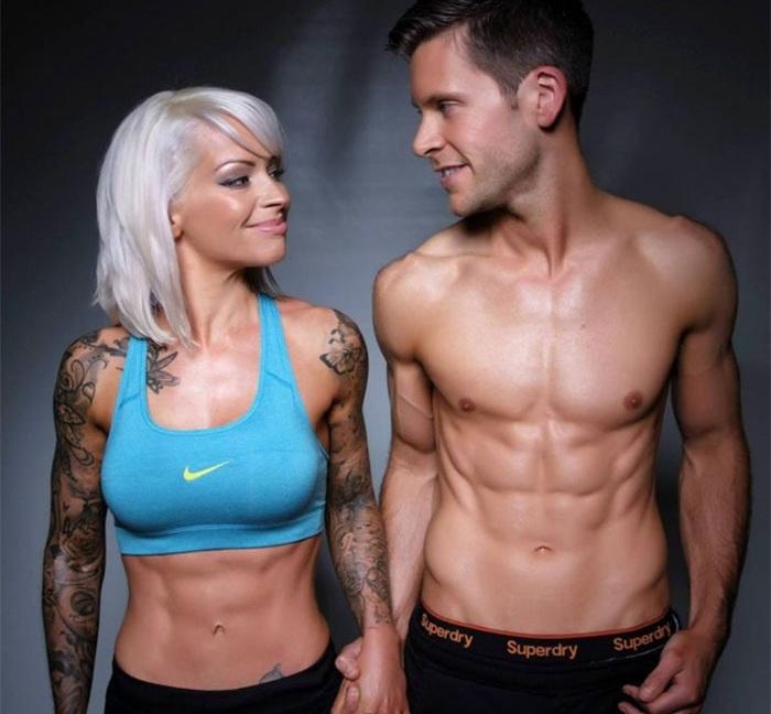 Влюбленные поженились только через пять лет после интенсивных тренировок.