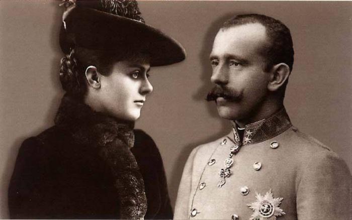 Австрийский кронпринц Рудольф и румынская баронесса Мария Вечера. | Фото: f9.ifotki.info.