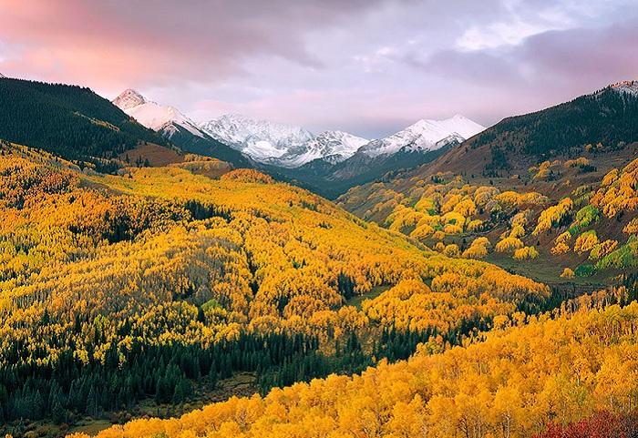 Capitol Creek Valley. Осень
