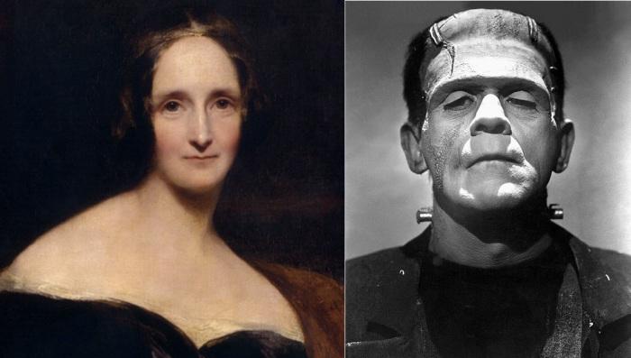Мэри Шелли - писательница, создавшая историю о Франкенштейне.