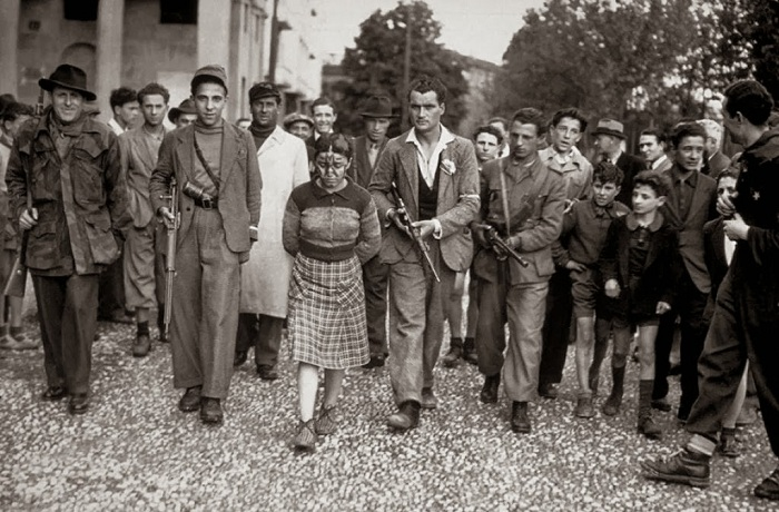 Публичные унижения француженок после окончания Второй мировой войны.
