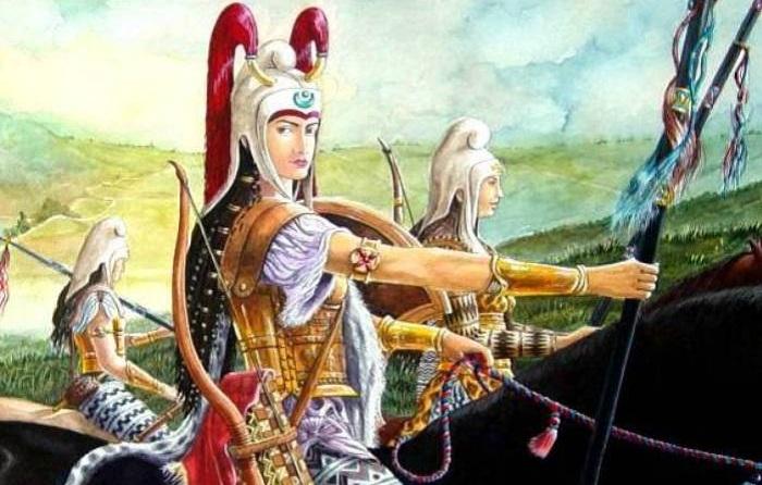 Воительница Древней Персии. | Фото: allday.com.