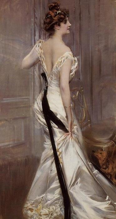 Черная лента. Джованни Болдини, ок. 1905 г. | Фото: subscribe.ru.