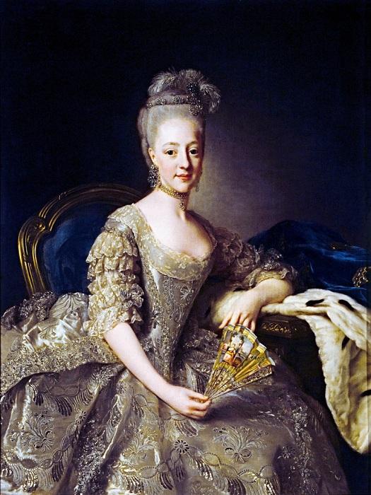 Портрет Гедвиги Елизаветы Шарлотты Гольштейн-Готторпской.