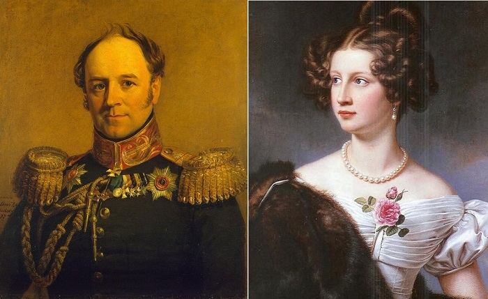 Александр Христофорович Бенкендорф и Амели Крюднер.