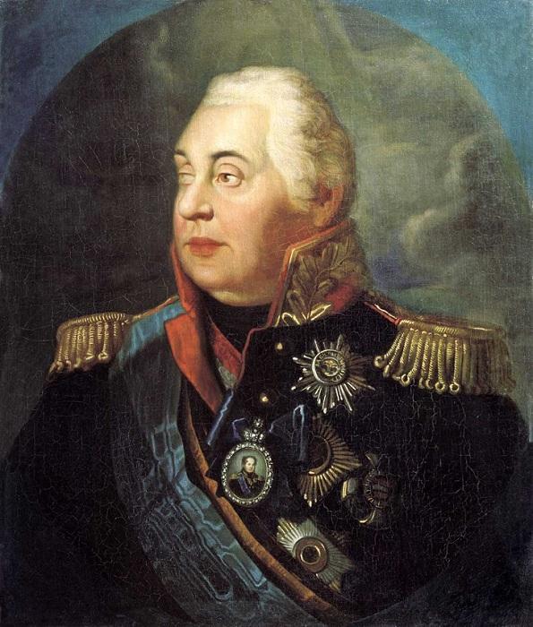 Полководец Михаил Илларионович Голенищев-Кутузов.