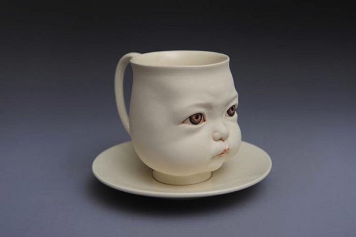 Работа китайского скульптора Johnson Tsang.