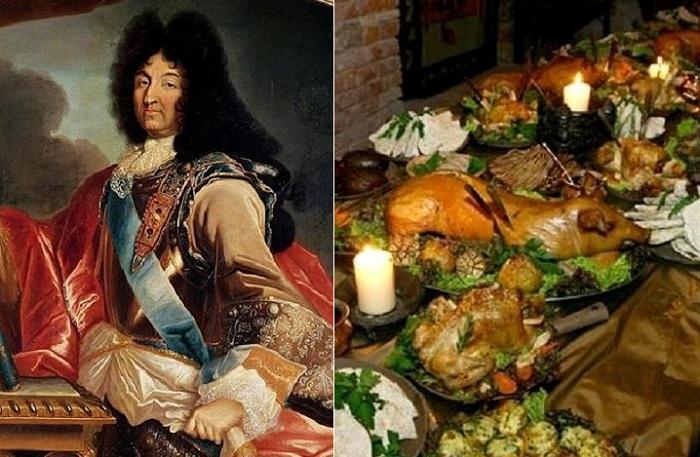 Людовик XIV и его трапезы.