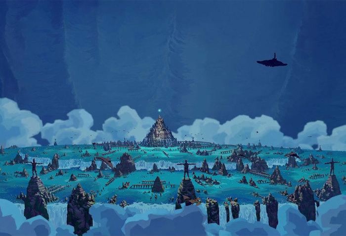 Храмовый комплекс из м/ф «Атлантида: затерянный мир.»