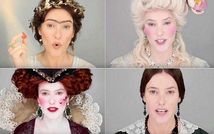 Как менялись понятия о «правильном» макияже в разные исторические периоды.