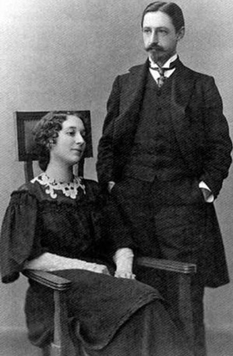 Иван Бунин и Вера Муромцева. | Фото: 900igr.net.