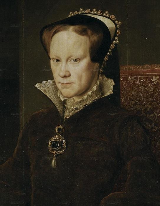 Королева Англии Мария I Тюдор. | Фото: ru.wikipedia.org.