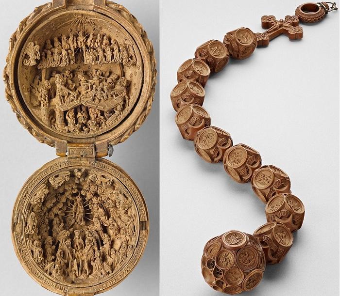 Невероятные изделия на религиозную тематику, датированные XVI веком.