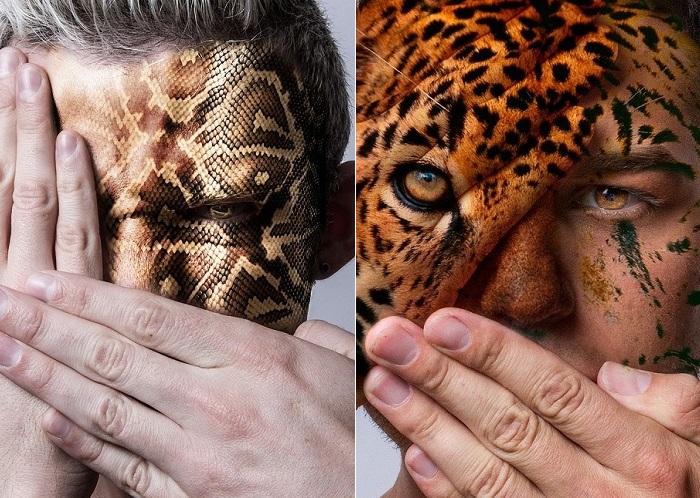 «Faces of the Wild» - проект американского фотографа.