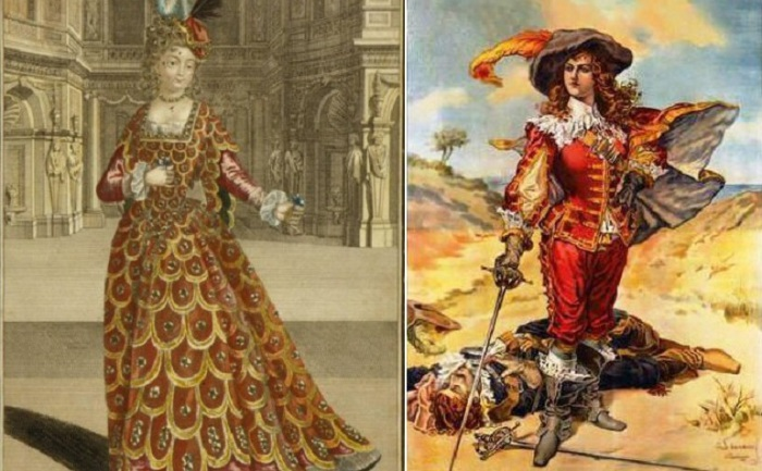 Мадемуазель де Мопен - известная дуэлянтка конца XVII века.