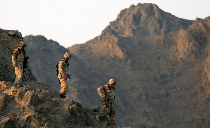 Афгано-пакистанская граница.