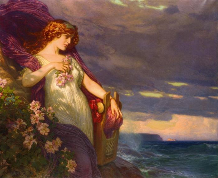 Сафо - женщина, имя которой стало синонимом для лесбиянок.
