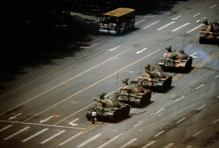 События на площади Тяньаньмэнь (1989 год).