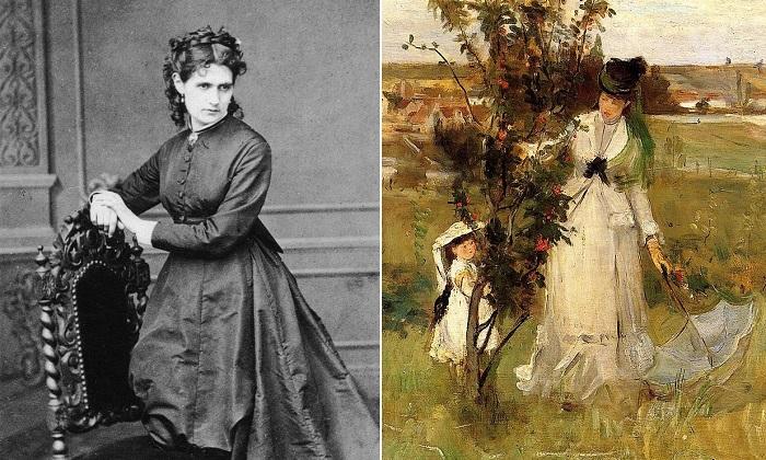 Художница-импрессионист Берта Моризо и ее картина «Прятки».