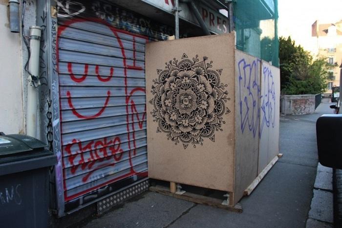 Уличное искусство от Arthur-Louis Ignore.