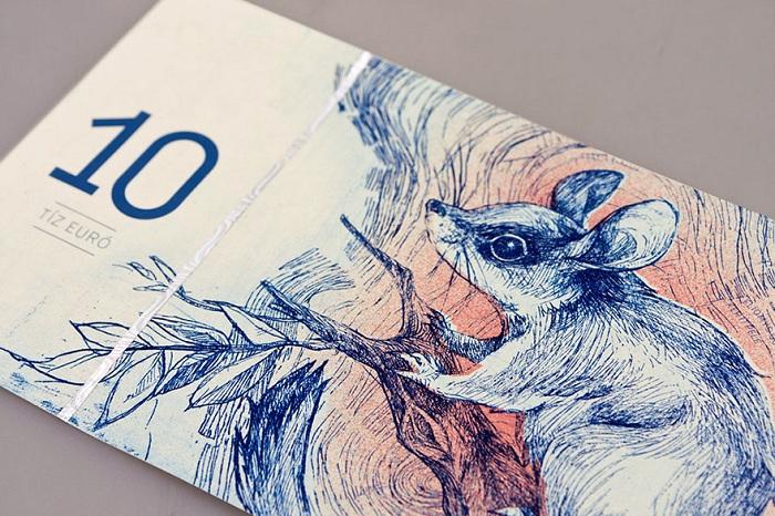 Нарисованные деньги - дипломный проект Барбары Бернат.
