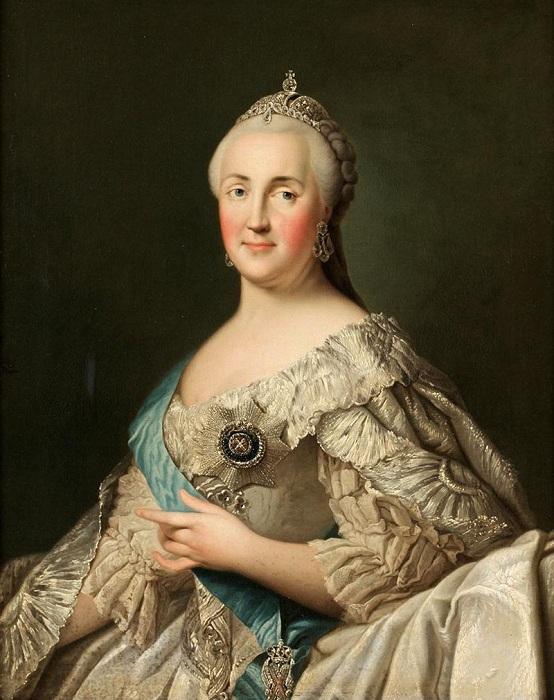 Российская императрица Екатерина II. | Фото: mtdata.ru.