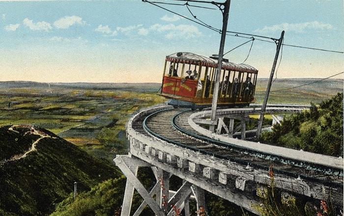 Тадеуш Лоу - создатель экстремальной железной дороги.
