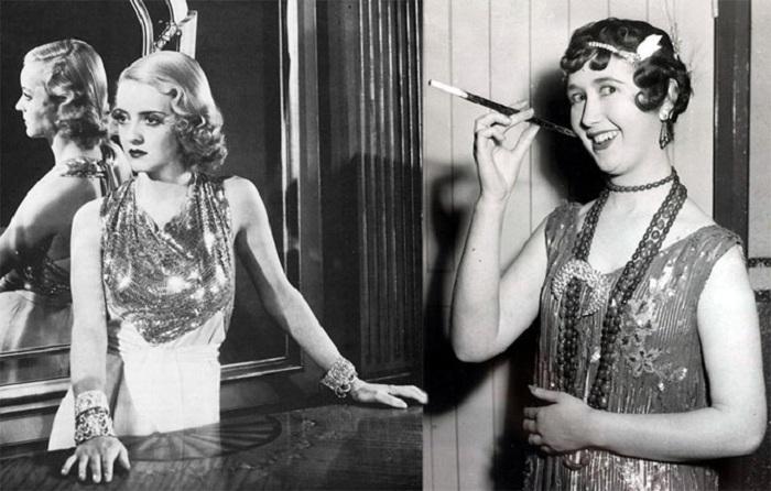 Женские образы, популярные в 20-х годах прошлого столетия. | Фото: izuminki.com.