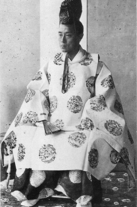 Последний сегун Японии Есинобу Токугава. | Фото: esacademic.com.