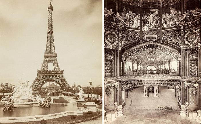 Эйфелеву башню построили для Всемирной выставки 1889 года. | Фото: mashable.com.